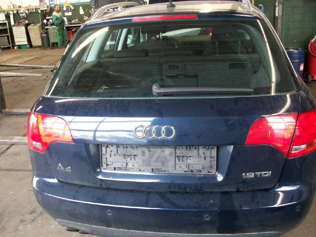 Heckklappe Mit Fensterausschnitt Audi A4 Avant 8e B7 249000 Km