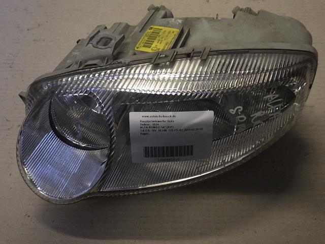 Hauptscheinwerfer links ALFA ROMEO 147 (937) 1.6 T.S. 16V 88 kW 120 PS (01.2001-03.2010) 0301186201