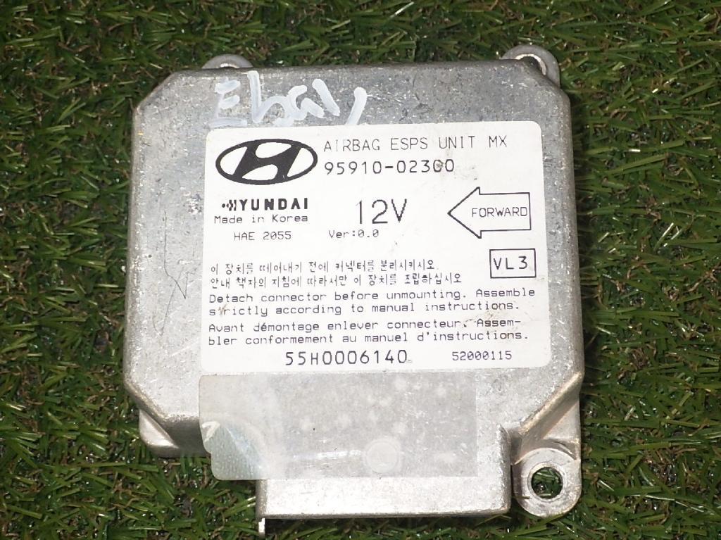 Steuergerät Airbag HYUNDAI Atos Prime (MX) 1.0 40 kW 54 PS (08.1999-> ) 9591002300