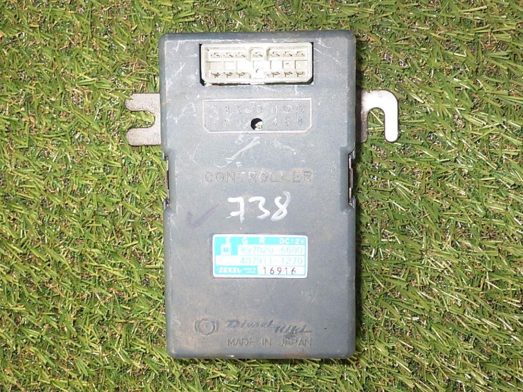 Steuergerät ISUZU Trooper (UBS) 2.8 TD 4WD 78 kW 106 PS (10.1988-12.1991) 4079111270