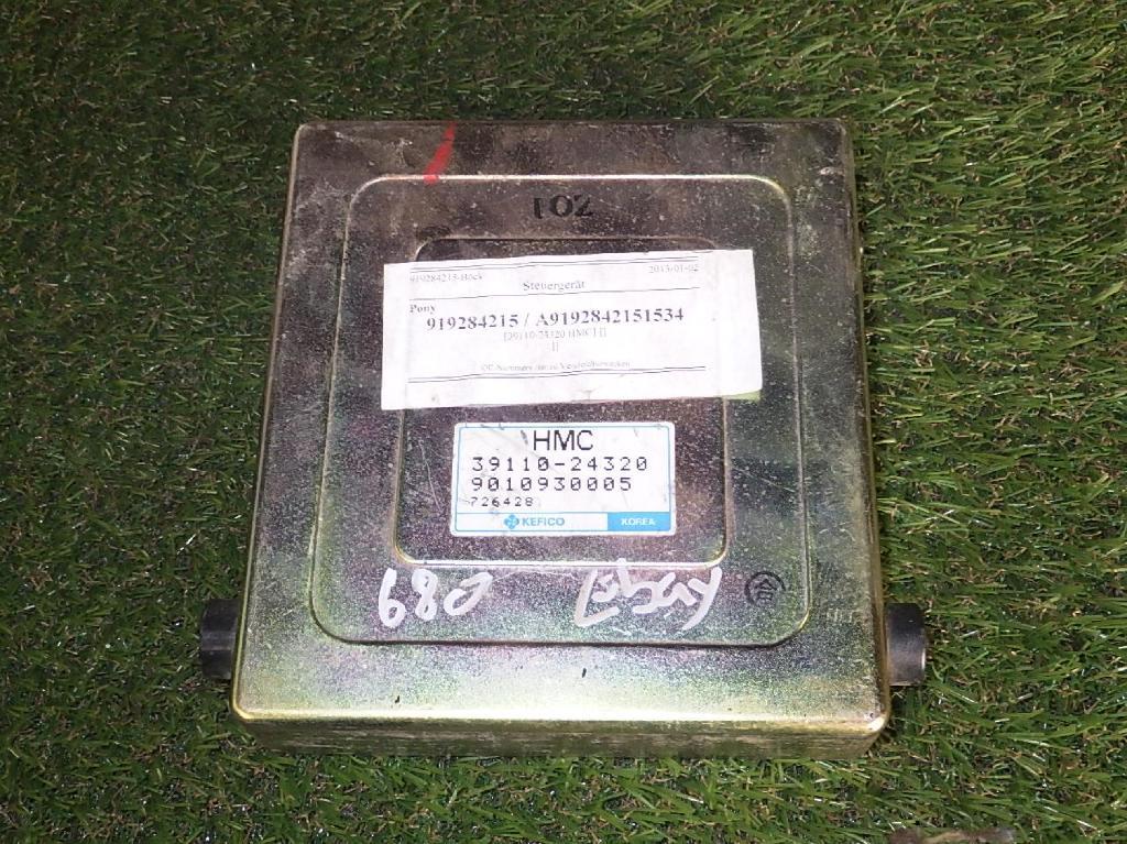 Steuergerät HYUNDAI Pony (X-2) 1.5 53 kW 72 PS (10.1989-01.1995) 3911024320