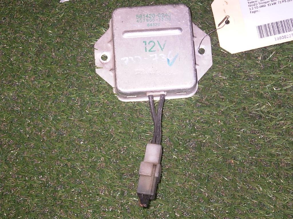 Steuergerät Glühzeit ISUZU Trooper Soft Top (UBS) 2.2 TD 4WD 53 kW 72 PS (03.1984-12.1991) 4079007500