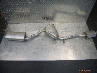 Auspuffanlage FIAT Brava (182) 1.6 16V 66 kW 90 PS (10.1995-10.2001)
