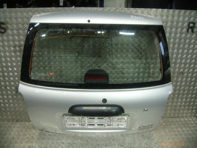 Heckklappe mit Fensterausschnitt DAIHATSU Cuore VI (L7) 1.0 41 kW 56 PS (10.1998-05.2003)