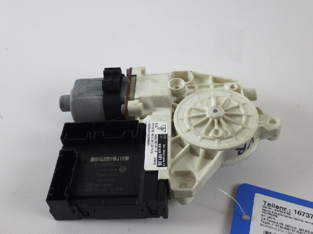 Motor Fensterheber rechts PORSCHE 911 (997) 3.8 Carrera 4S 283 kW 385 PS (06.2008-12.2012) 997624182