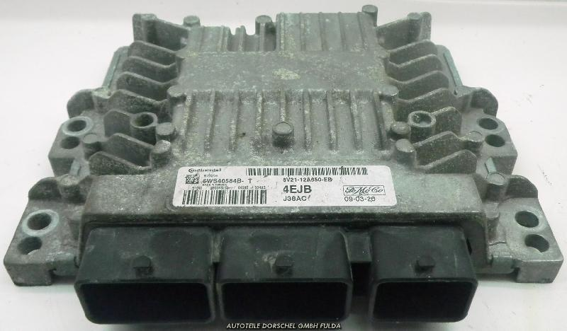 Steuergerät Motor FORD Fiesta VI (JA8) 1.4 TDCi 50 kW 68 PS (01.2009-> ) 8V2112A650EB
