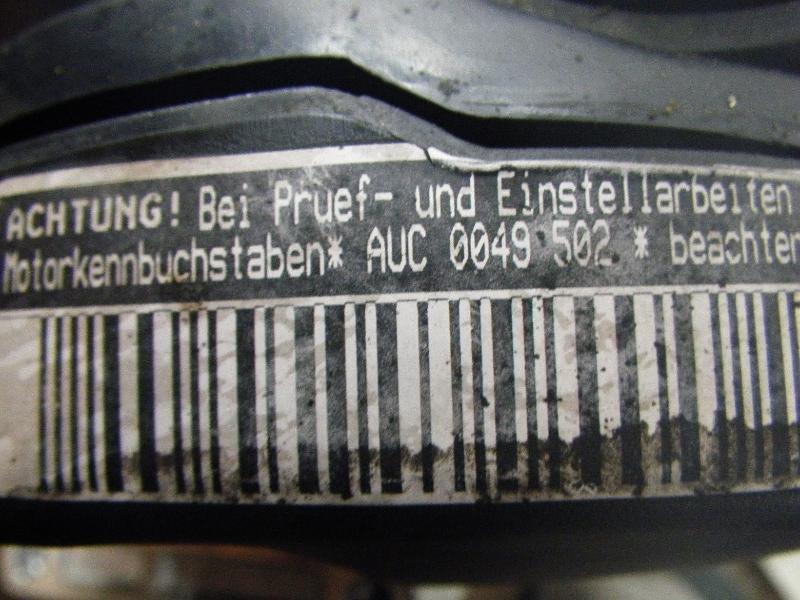Motor ohne Anbauteile (Benzin) VW Polo III (6N2) 1.0 37 kW 50 PS (10.1999-09.2001) Bild 5