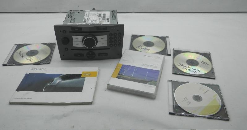 Radio/Navigationssystem-Kombination OPEL Astra H Caravan 1.9 CDTI 16V 88 kW 120 PS (08.2004-> ) 13188465