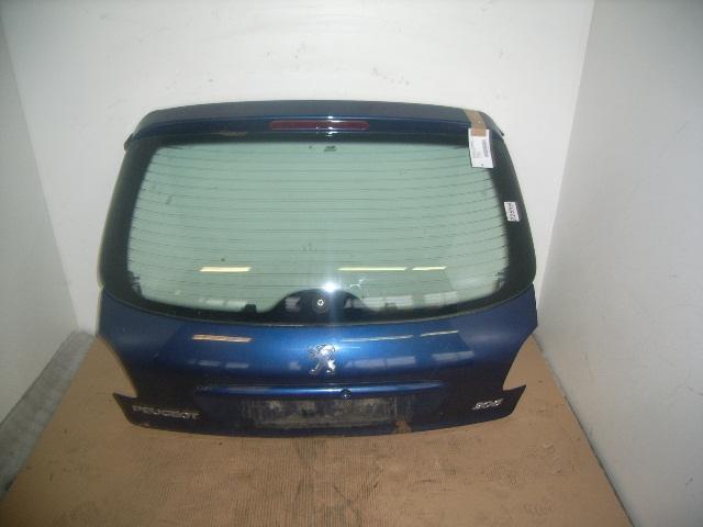 Heckklappe / Heckdeckel PEUGEOT 206 Schrägheck 1.1 44 kW 60 PS (09.1998-> )