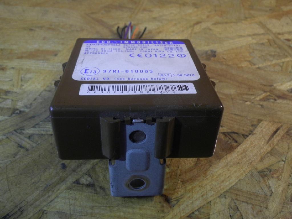 Steuergerät DAIHATSU Sirion (M1) 1.0 43 kW 58 PS (09.2000-01.2005) B970297919