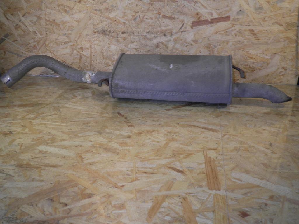 96368 Auspuff FORD Escort VII Kombi (GAL; ANL) 1.8 TD 51 kW