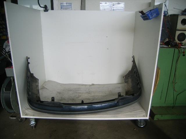 Stoßstange hinten VOLVO V40 (V) 1.9 D 70 kW 95 PS (03.1999-07.2000)