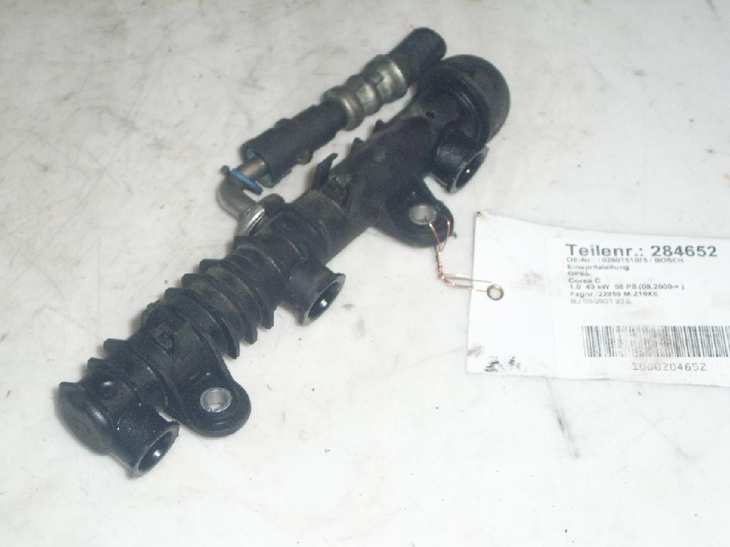 Einspritzleitung OPEL Corsa C 1.0 43 kW 58 PS (09.2000-12.2009) 0280151075