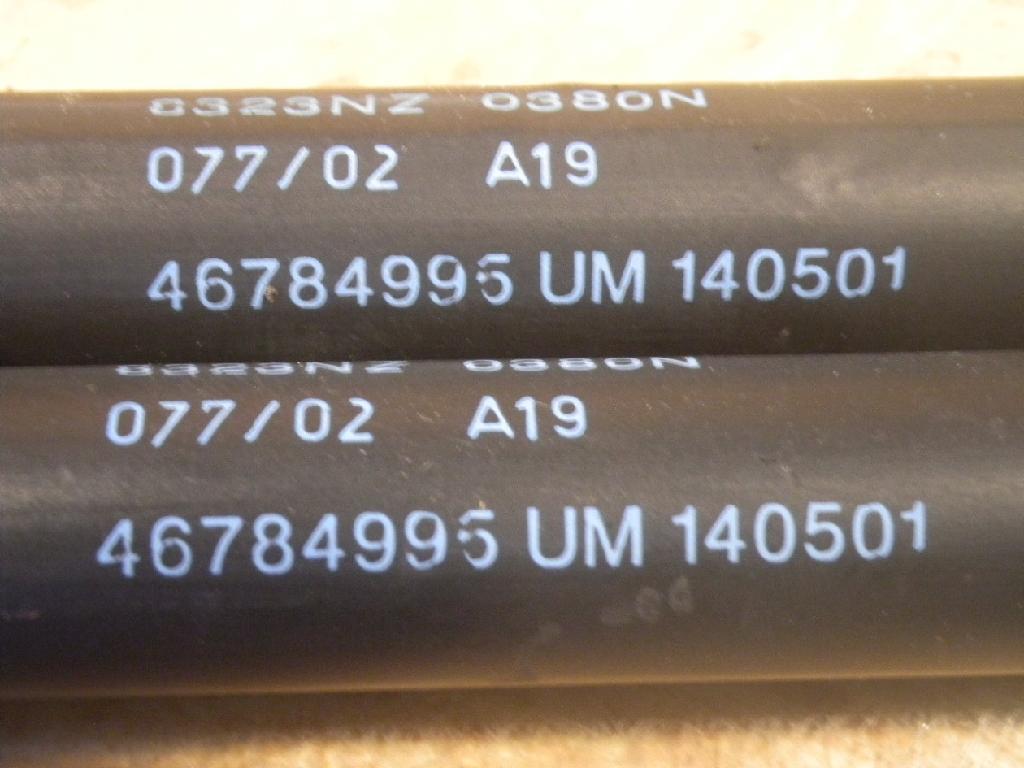 METZGER Gasfeder Kofferraum Heckklappendämpfer 2110181
