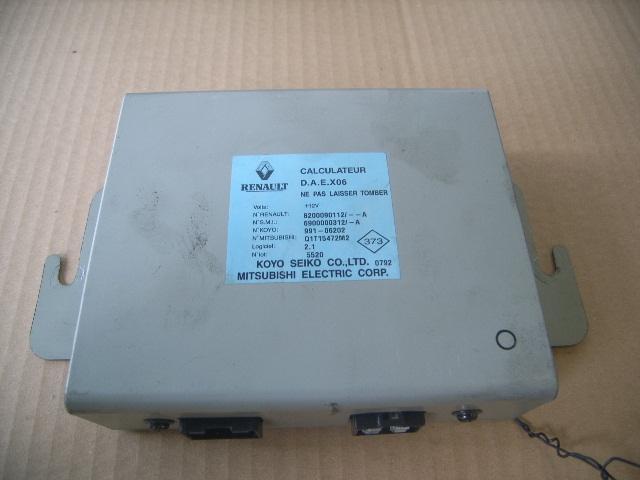 Steuergerät Servolenkung RENAULT Clio II (B) 1.2 55 kW 75 PS (06.2001-> ) 8200090112
