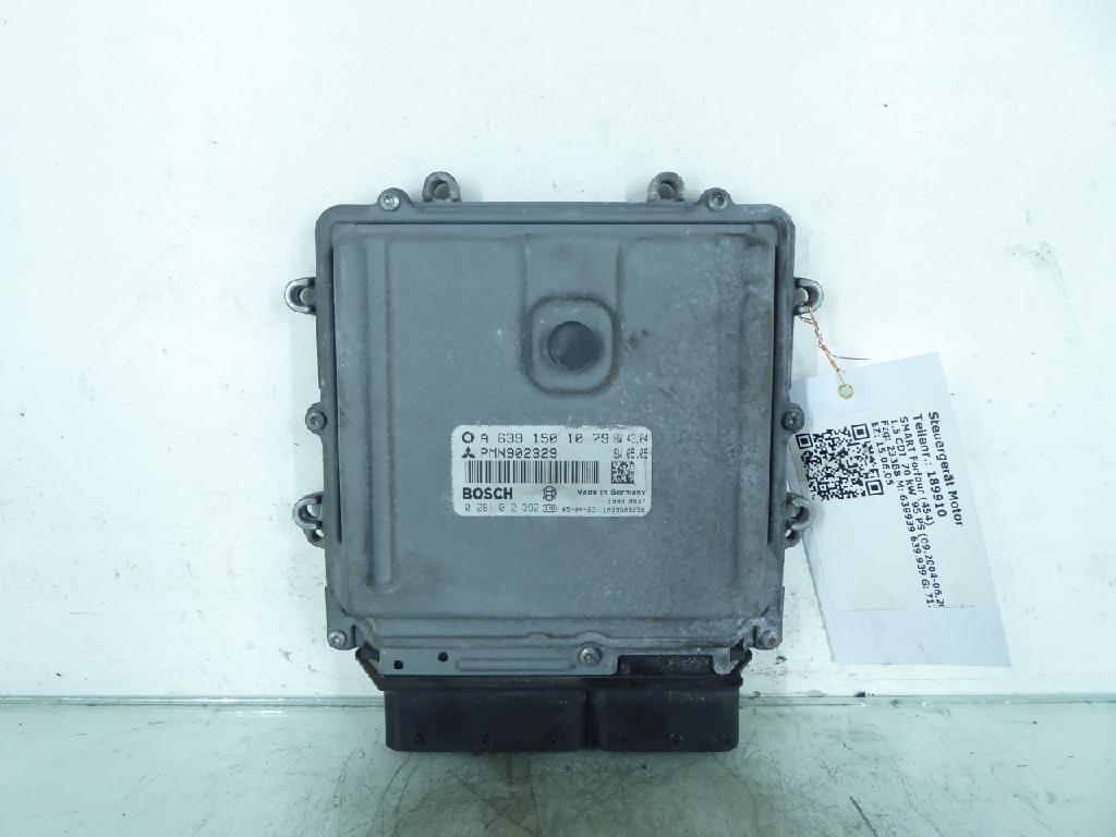 Steuergerät Motor SMART Forfour (454) 1.5 CDI 70 kW 95 PS (09.2004-06.2006) 6391501079