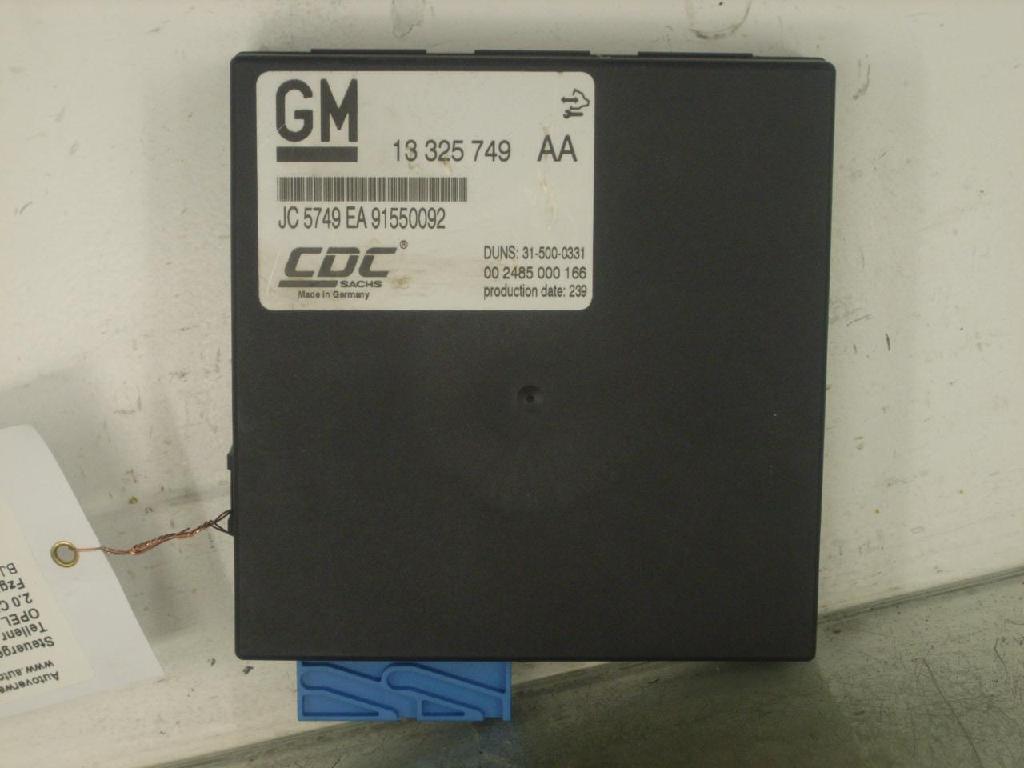 Steuergerät Fahrwerk CDC OPEL Insignia 13325749