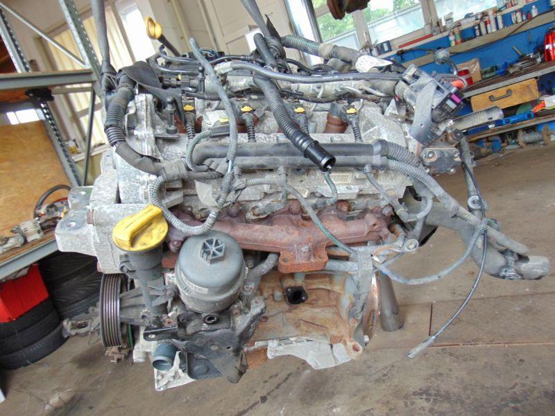 Motor ohne Anbauteile (Diesel) verk. als Def. OPEL CORSA D 1.3 CDTI 55 KW Z13DTJ