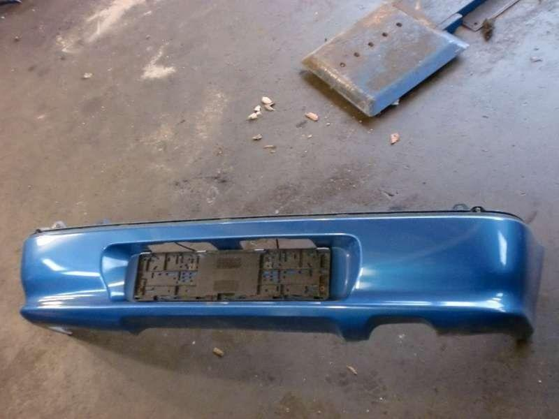 Stoßstange hinten  SUZUKI SWIFT II SCHRÄGHECK (EA)  1.0 39 KW