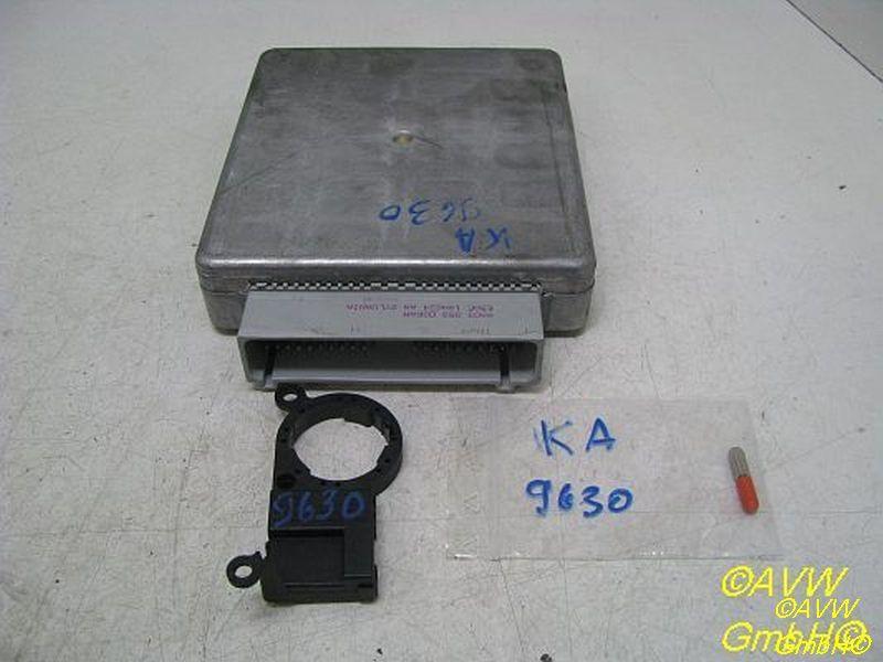 Steuergerät Motor Satz mit Lesespule und Transponder FORD KA RB 1.3 I 44 KW 98KB12A650DA
