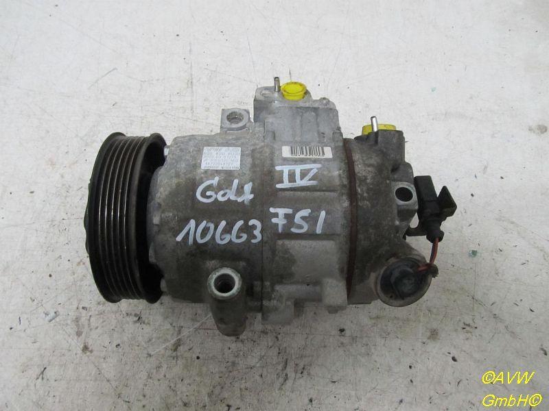 Klimakompressor  VW GOLF IV (1J1) 1.6 FSI 81 KW 6Q0820803D