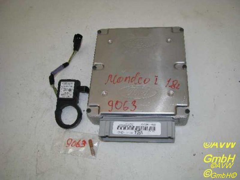 Steuergerät Motor Satz mit Lesespule und Transponder FORD MONDEO I STUFENHECK (GBP) 1.6 I 16V 65 KW 95BB12A650YA