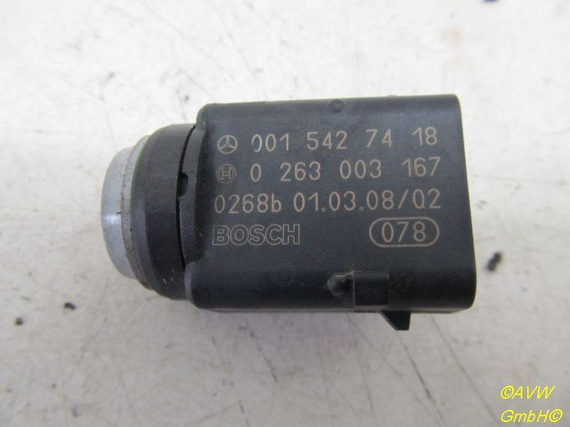 A0015427418 Mercedes W203 W211 Parksensor PDC Sensor Einparkhilfe Tansanitblau