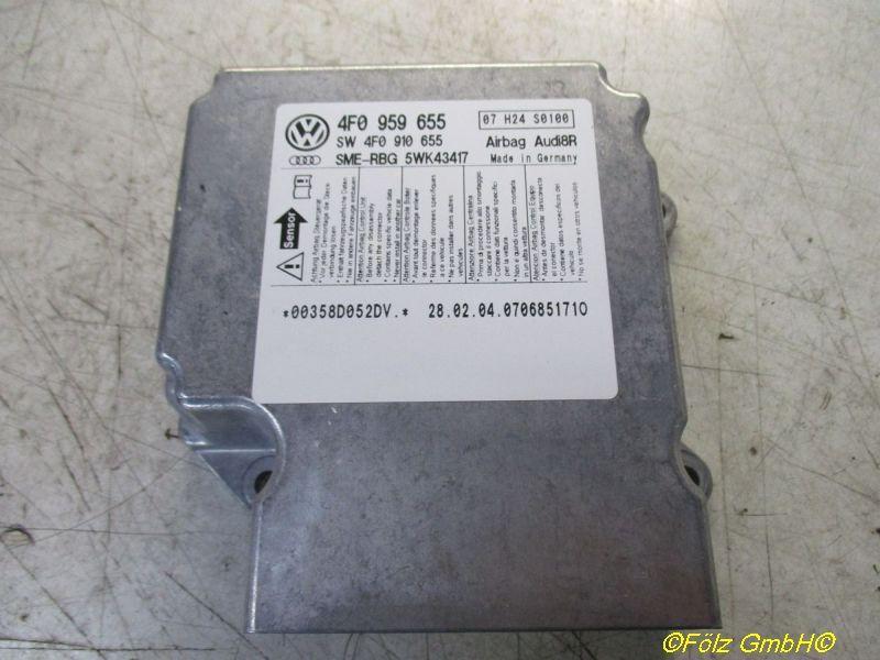 Steuergerät Airbag  AUDI A6 (4F2, C6) 3.0 TDI QUATTRO 165 KW 4F0959655