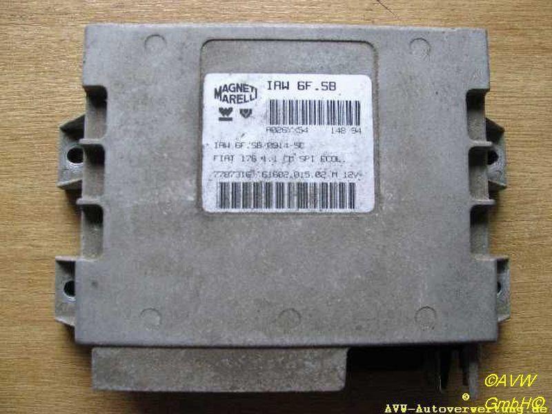 Steuergerät Motor  FIAT PUNTO (176) 55 1.1 40 KW IAW6FSB