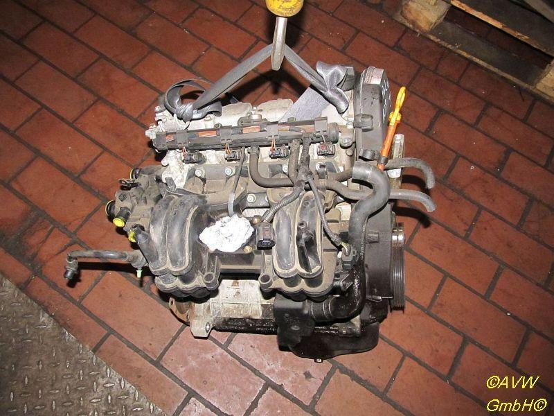 Motor ohne Anbauteile (Benzin) AUD VW POLO (6N2) 1,4 44 KW Bild 1