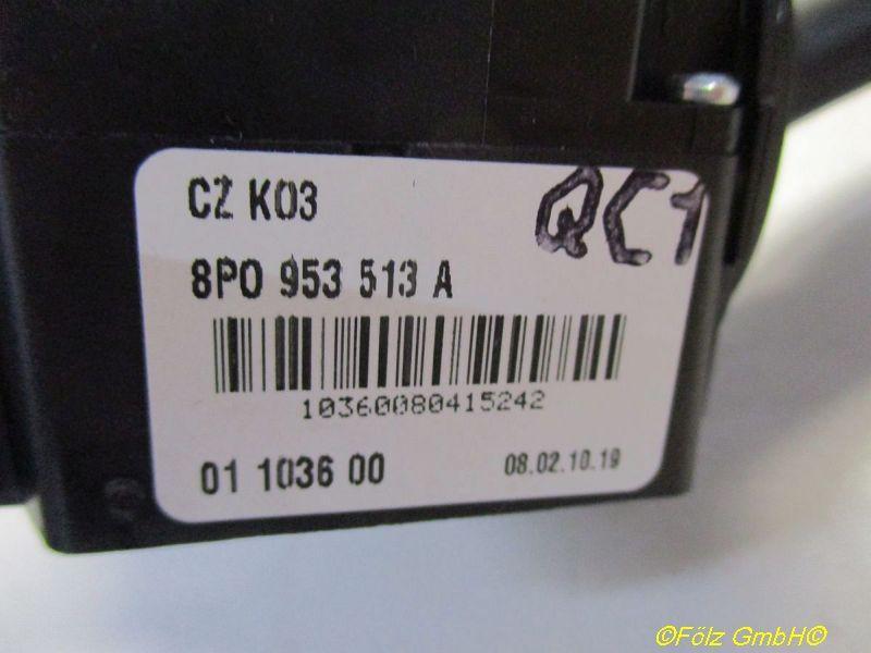 Blinkerschalter  AUDI A3 SPORTBACK (8PA) 1.9 TDI 77 KW 8P0953513A Bild 2