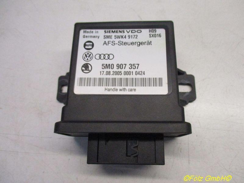 Steuergerät Beleuchtung Kurvenlicht VW PASSAT VARIANT (3C5) 2.0 TDI 16V 103 KW 5M0907357