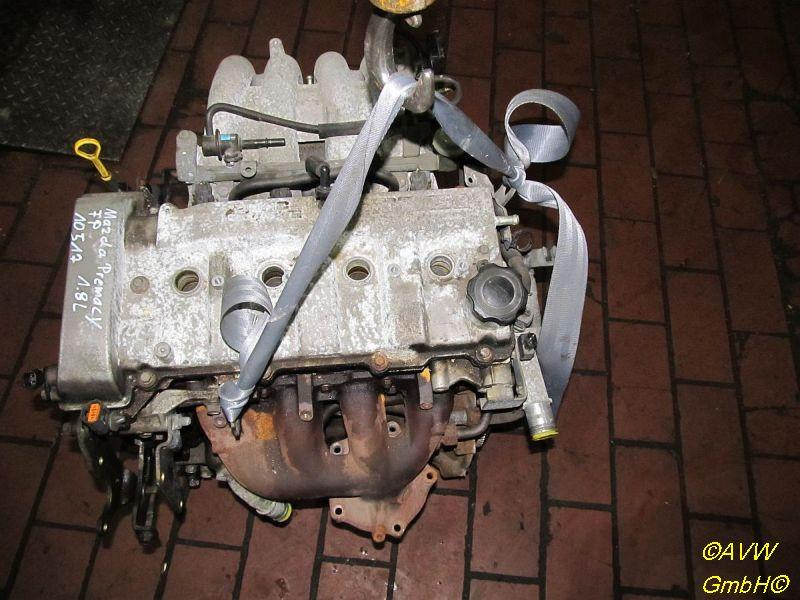 Motor ohne Anbauteile (Benzin)  MAZDA PREMACY (CP) 1,8 74 KW