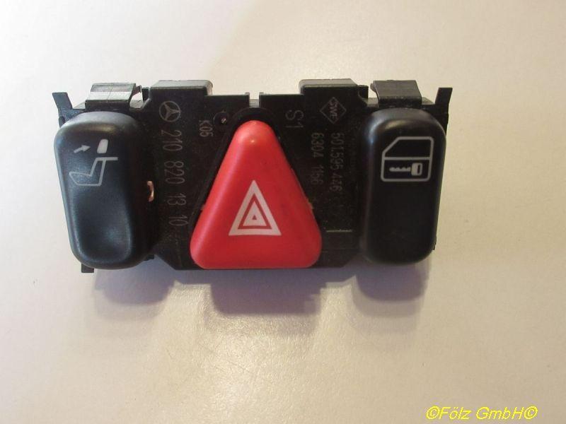Schalter Warnblinker  MERCEDES-BENZ E-KLASSE (W210) E 200 100 KW 2108201310