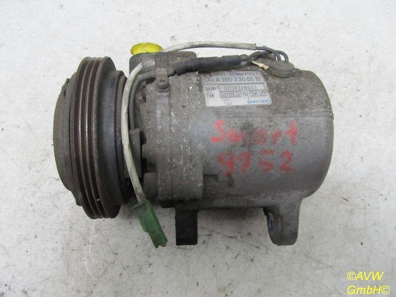 Klimakompressor  SMART CITY-COUPE (450) 0.8 CDI 30 KW A1602300111