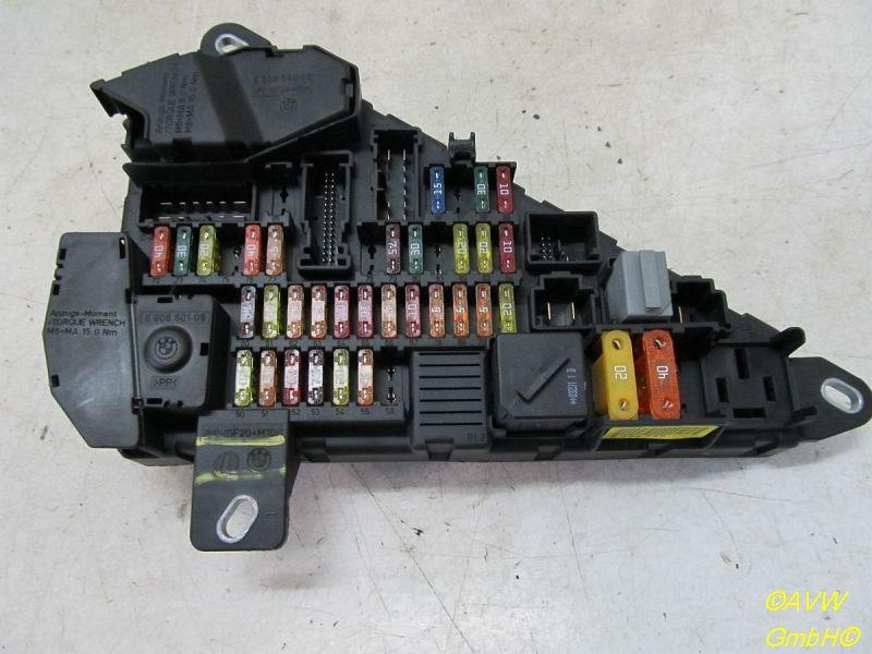 Sicherungskasten Sicherungskasten Module BMW 5 (E60) 545I 245 KW 518811047