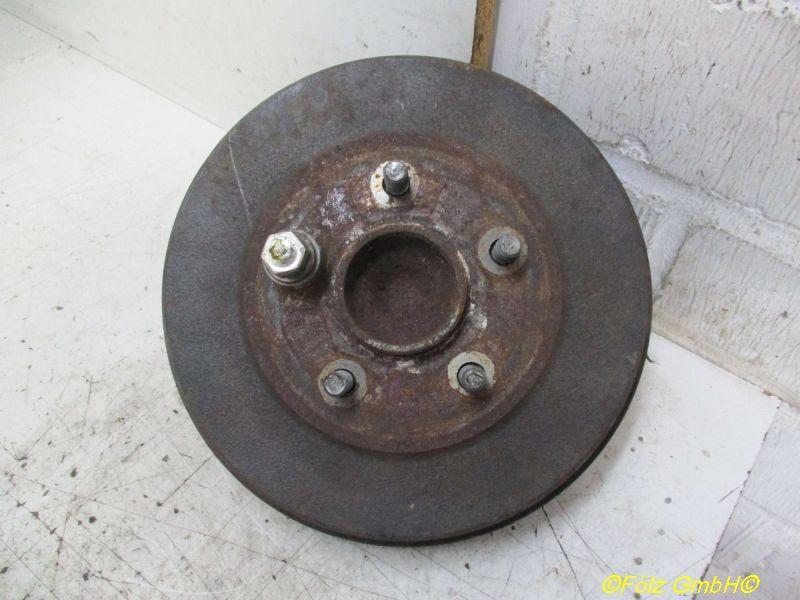 Radlagergehäuse Achsschenkel rechts hinten mit ABS FORD FOCUS II (DA_) 1,6 74 KW 53606