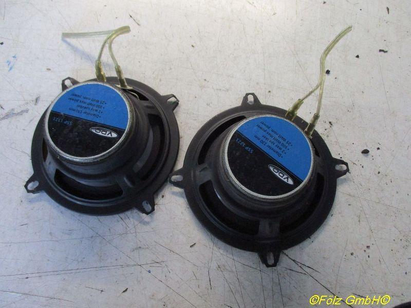 Lautsprecher Durchmesser 130mm 100 WATT 2-Wege 2 Stück FORD TRANSIT CONNECT (P65_, P70_, P80_) 1.8 T 66 KW SSP1321 Bild 2