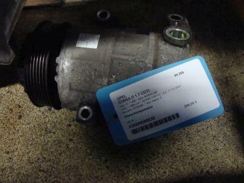 Klima-Kompressor  OPEL CORSA D 1.7 CDTI 92 KW