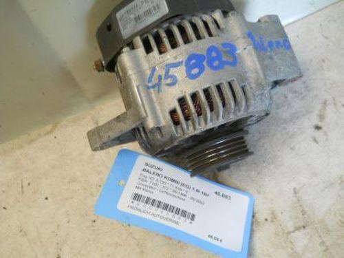 Generator / Lichtmaschine Mit Klima, 70 A SUZUKI BALENO KOMBI (EG) 1.6I 16V 71 KW JA1293IR