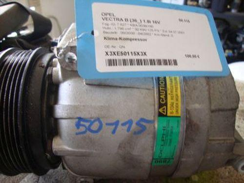 Klima-Kompressor  OPEL VECTRA B (36_) 1.8I 16V 92 KW