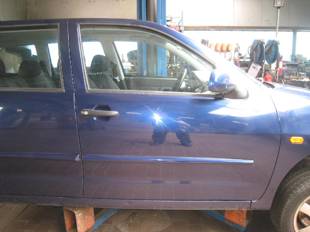 Fensterheber Ele Ohne Motor Vorne Rechts für VW POLO 6K CADDY II 9K9B 9KV