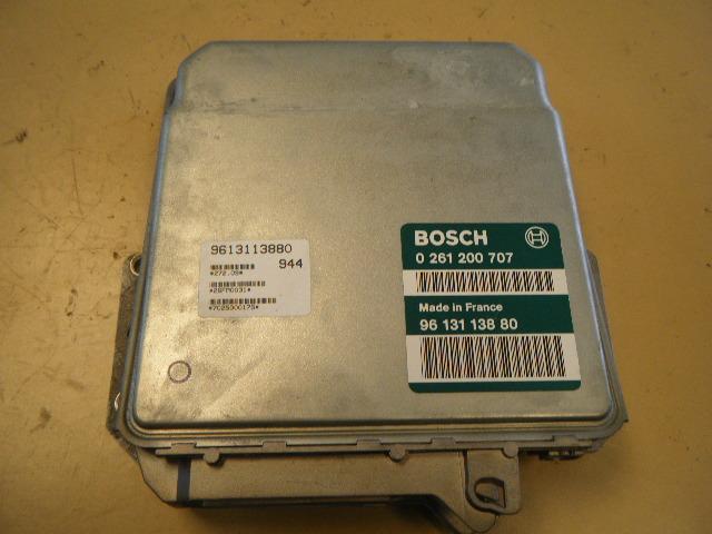 Einspritzsteuergerät Peugeot 106