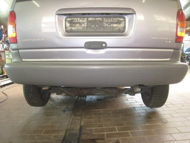 Stossstange / Stossfänger Hinten Kurzer Radstand Chrysler Voyager