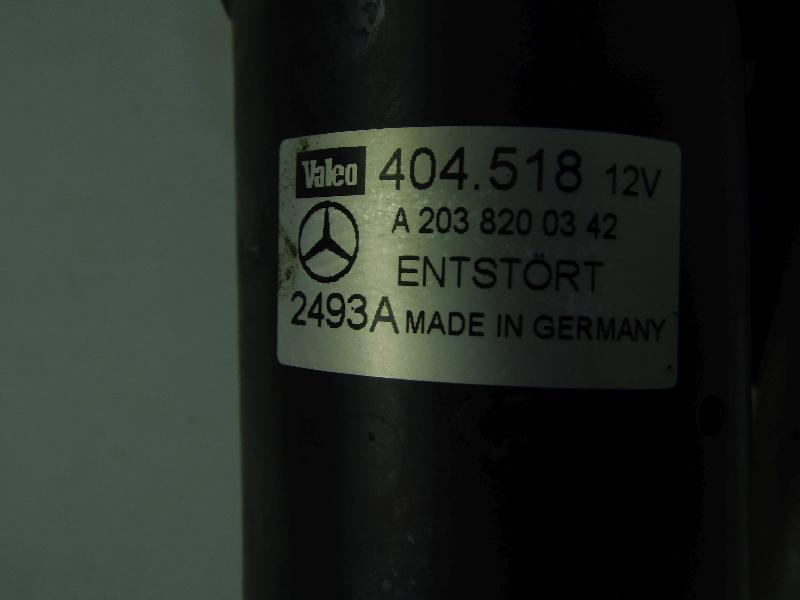 Wischermotor mit Wischergestänge A2038200342 Mercedes-Benz CLK 200-CLK 55 AMG Coupè/Cabrio (Typ Bild 4