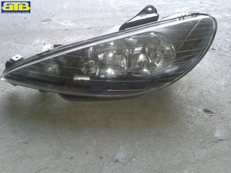 Hauptscheinwerfer links 206156 / 20-6156 mit Stellmotor Leuchtweitenregulierung-Vale PEUGEOT 206 SCHRÄGHECK (2A/C) 1.1 I 44 KW 206156