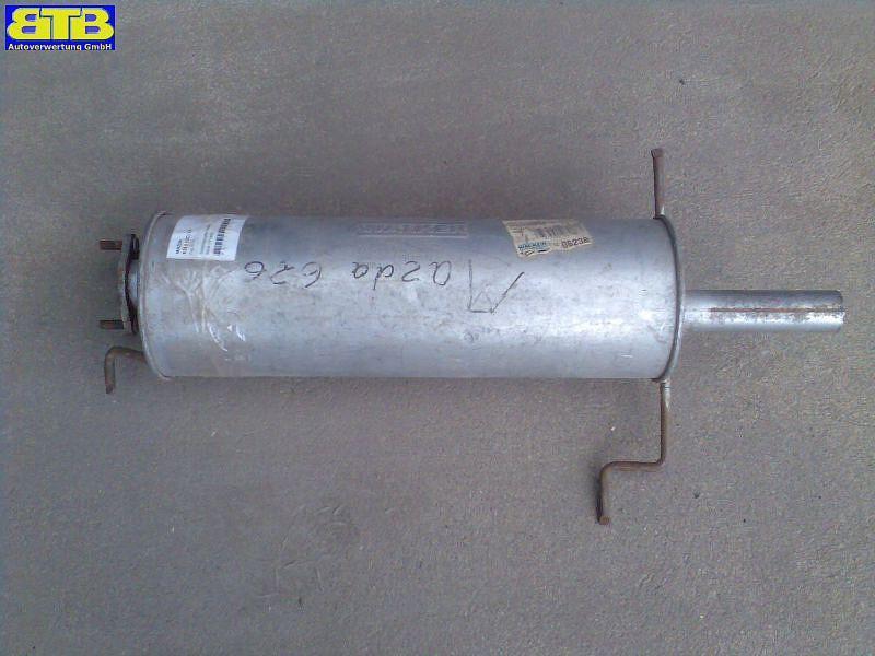 Schalldämpfer hinten Bosal-Vergl.-Nr.: 171-305 MAZDA 626 II (GC) 2.0 74 KW 06238