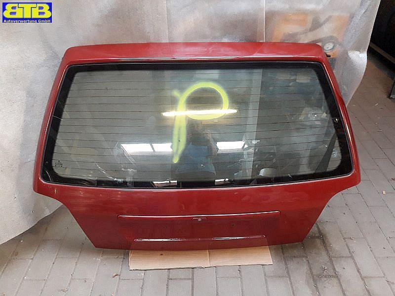 Heckklappe LA3G Klassicrot VW GOLF III (1H1) 1.4 44 KW 1H6827025J