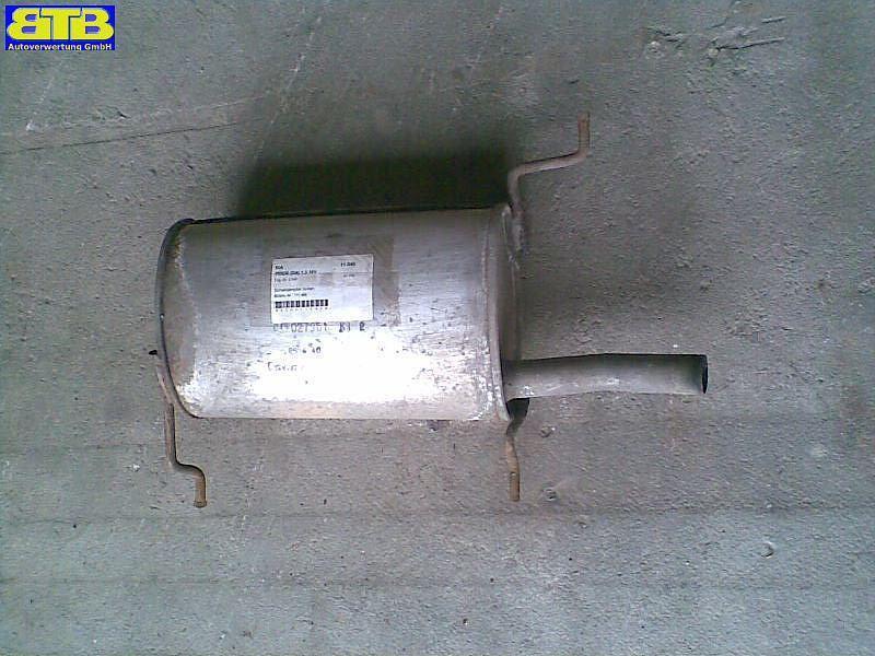 Schalldämpfer hinten Bosal-Vergl.-Nr.:171-469 KIA PRIDE (DA) 1.3 16V 47 KW 243692