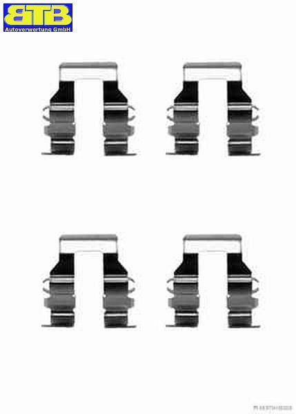 Bremsbelag SB hinten J3665009 Zubehörsatz, Scheibenbremsbelag MITSUBISHI, TOYOTA, KIA, LEXUS GALANT VI STATION WAGON (EA_) 2 100 KW J3665009